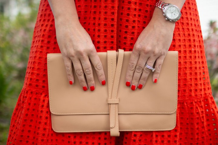 Accessorizing Bold Colours(for work relatedevents)
