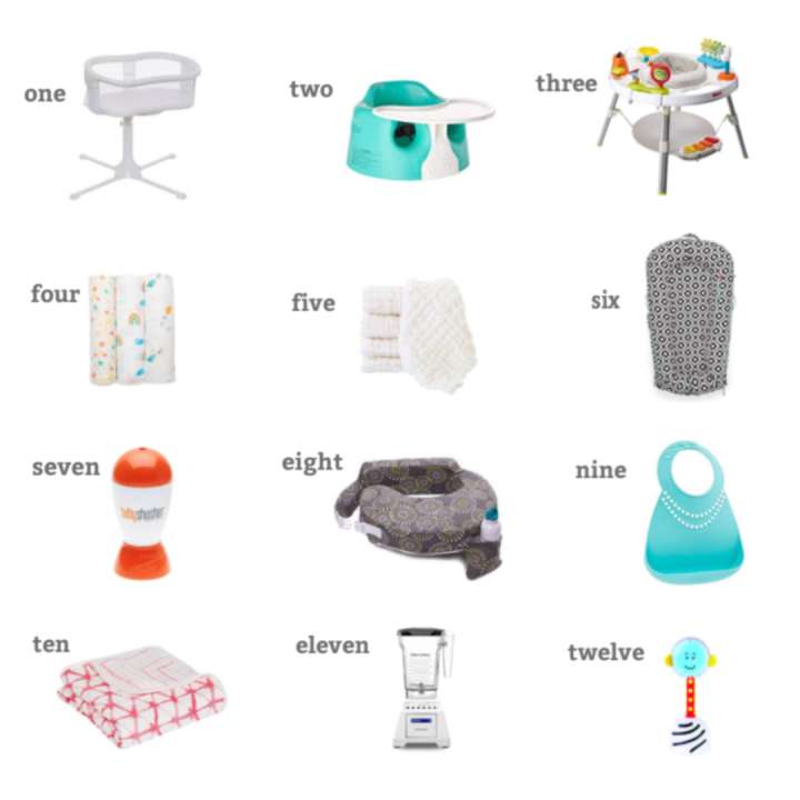 My Top 12 Favourite (& most useful) BabyProducts