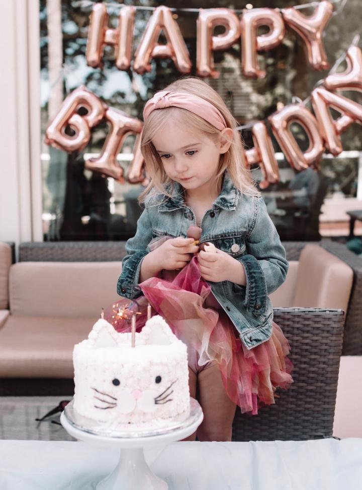Elle's Third BirthdayParty