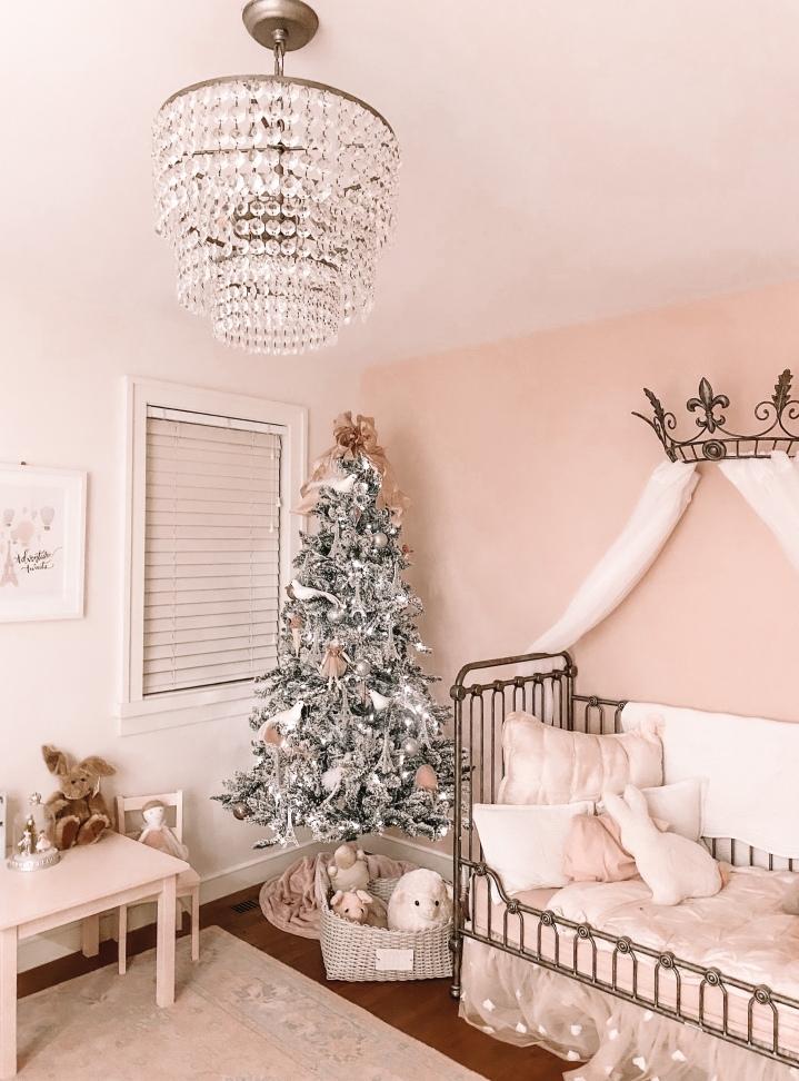 Elle Rose's Enchanting Parisian Bedroom (HolidayStyle)